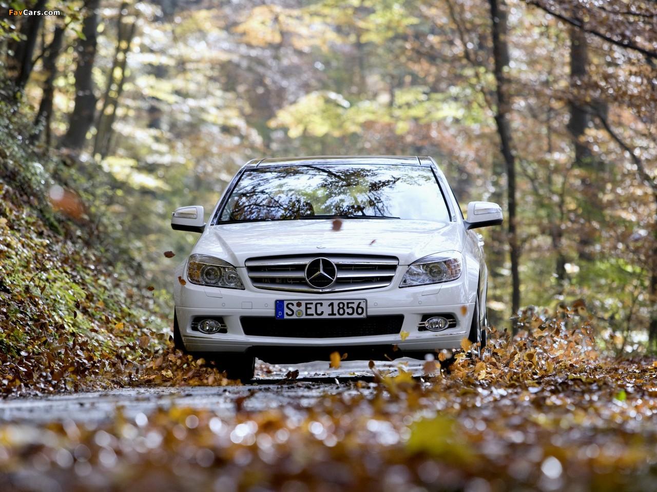 Mercedes-Benz C 350 4MATIC (W204) 2007–11 images (1280 x 960)