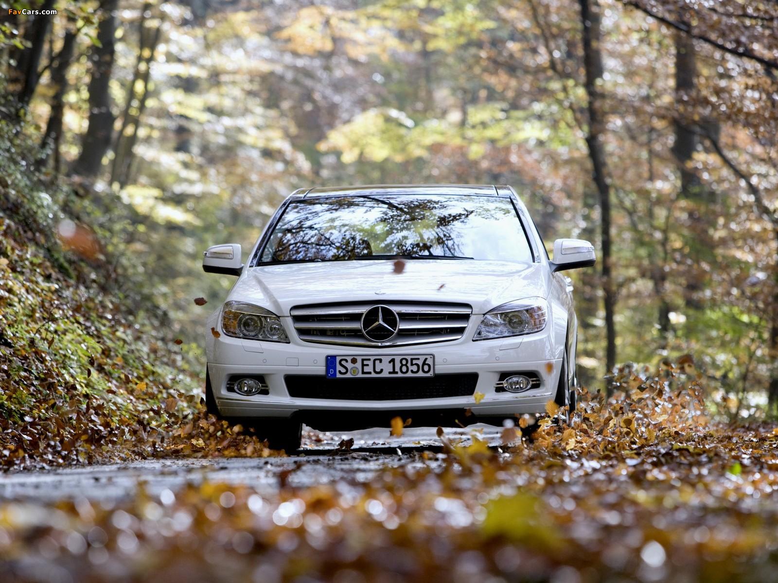 Mercedes-Benz C 350 4MATIC (W204) 2007–11 images (1600 x 1200)