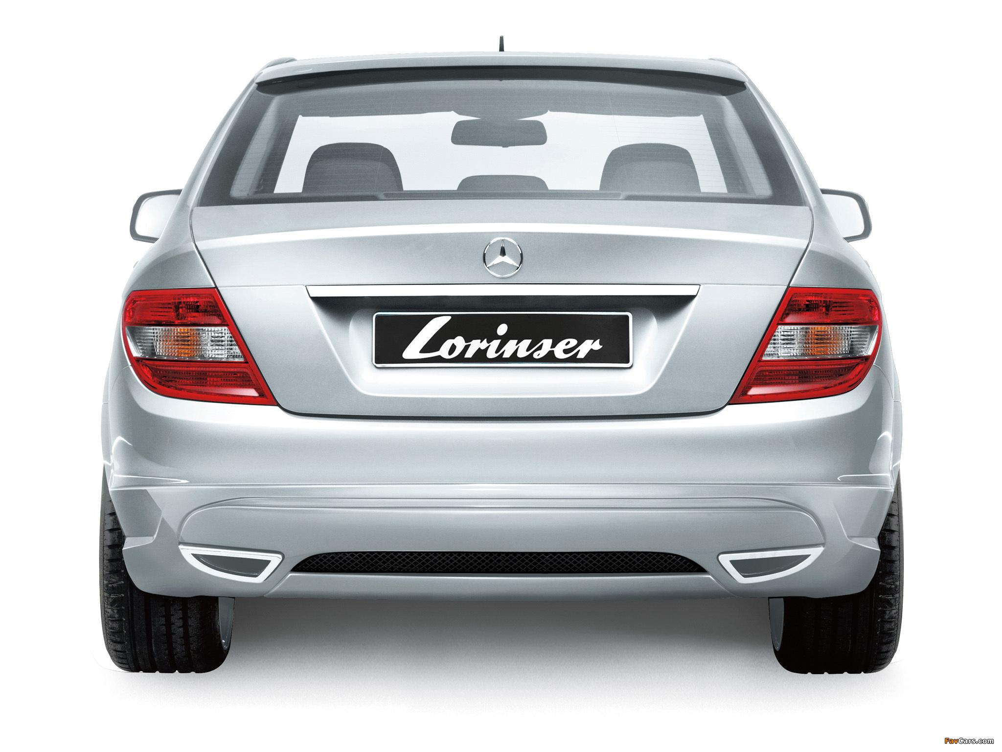 Lorinser Mercedes-Benz C-Klasse (W204) 2007–11 images (2048 x 1536)