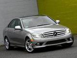 Mercedes-Benz C 300 Sport US-spec (W204) 2007–10 images