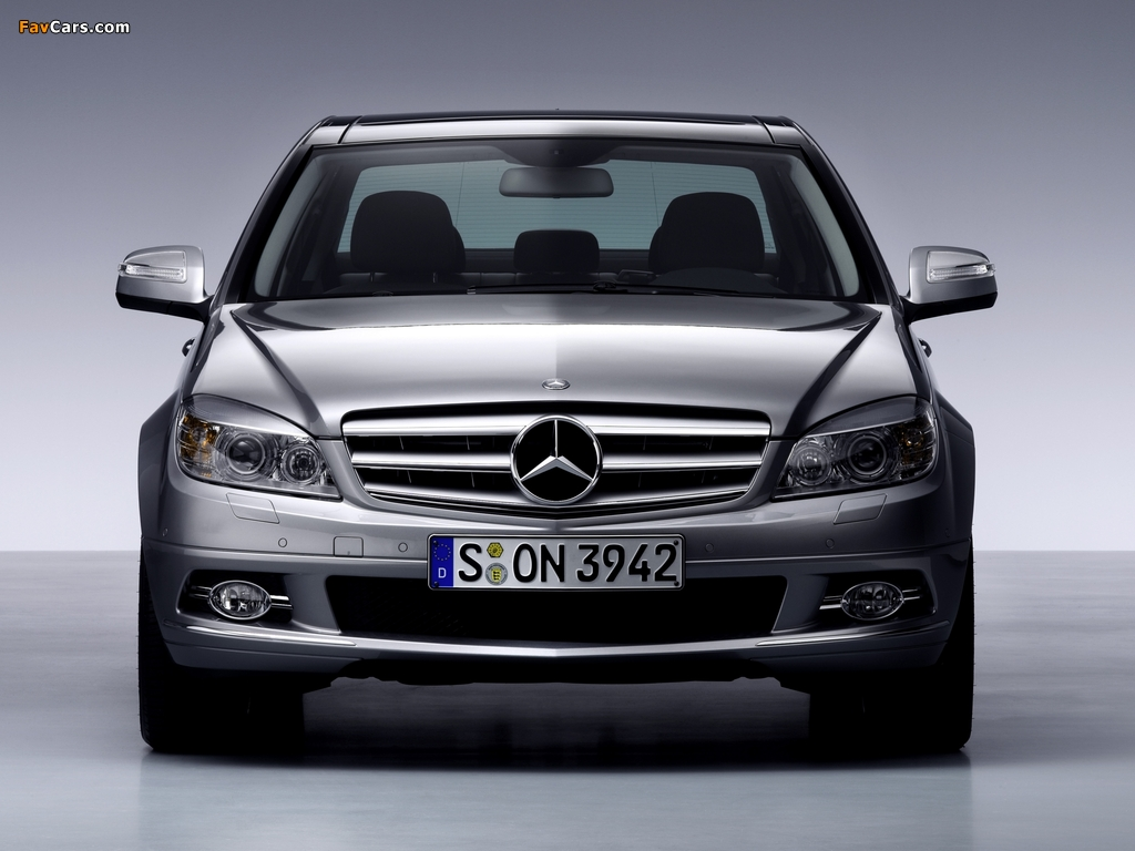 Mercedes-Benz C-Klasse (W204) 2007–11 images (1024 x 768)