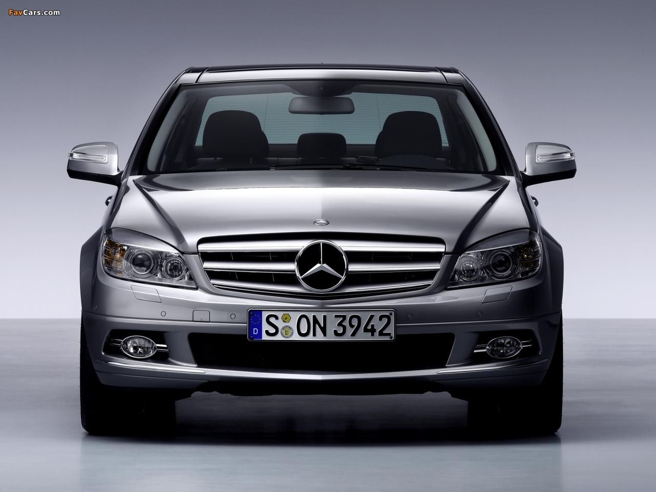 Mercedes-Benz C-Klasse (W204) 2007–11 images (1280 x 960)