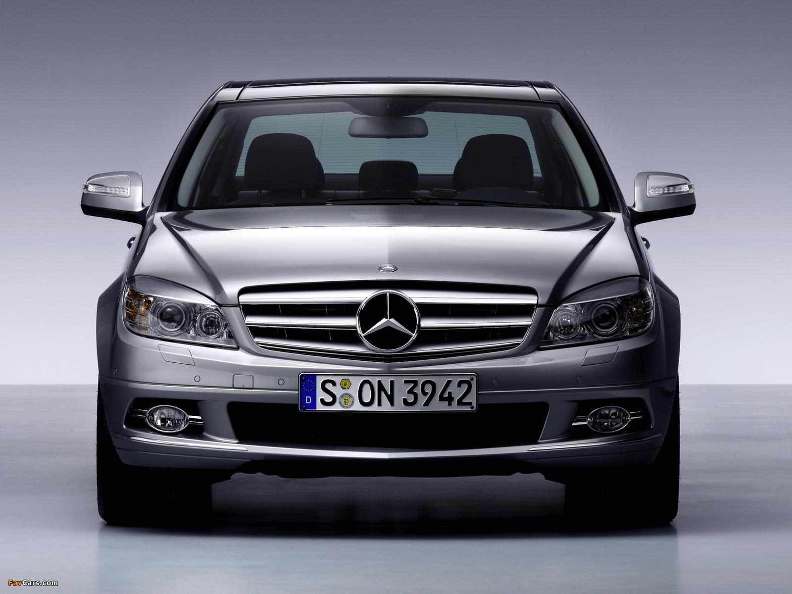 Mercedes-Benz C-Klasse (W204) 2007–11 images (1600 x 1200)