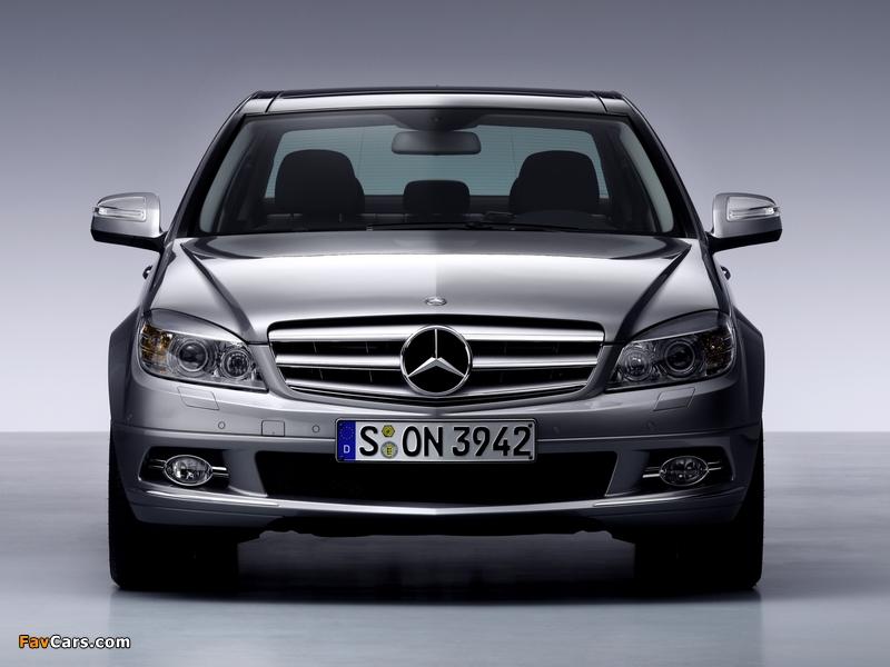 Mercedes-Benz C-Klasse (W204) 2007–11 images (800 x 600)