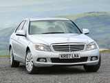 Mercedes-Benz C 350 UK-spec (W204) 2007–11 photos
