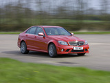 Mercedes-Benz C 63 AMG UK-spec (W204) 2007–11 photos