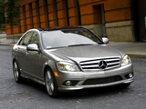 Mercedes-Benz C 300 Sport US-spec (W204) 2007–10 photos