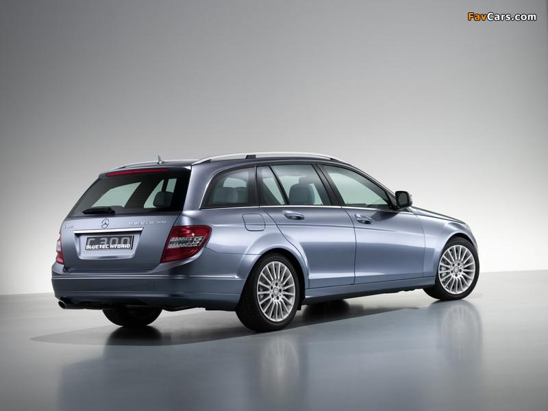 Mercedes-Benz C 300 BlueTec Hybrid Concept (S204) 2007 pictures (800 x 600)