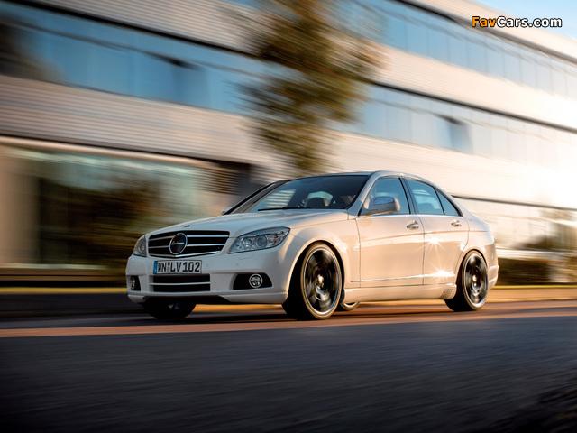 Lorinser Mercedes-Benz C-Klasse (W204) 2007–11 pictures (640 x 480)
