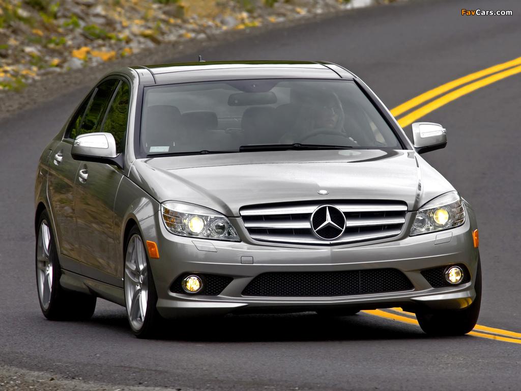 Mercedes-Benz C 300 Sport US-spec (W204) 2007–10 pictures (1024 x 768)
