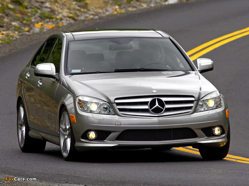 Mercedes-Benz C 300 Sport US-spec (W204) 2007–10 pictures (800 x 600)