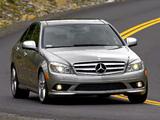Mercedes-Benz C 300 Sport US-spec (W204) 2007–10 pictures