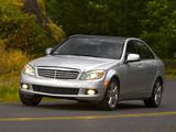 Mercedes-Benz C 300 US-spec (W204) 2007–11 pictures