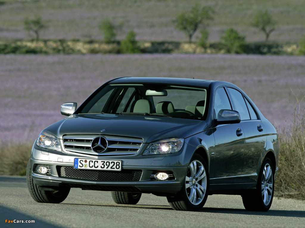 Mercedes-Benz C 350 (W204) 2007–11 pictures (1024 x 768)