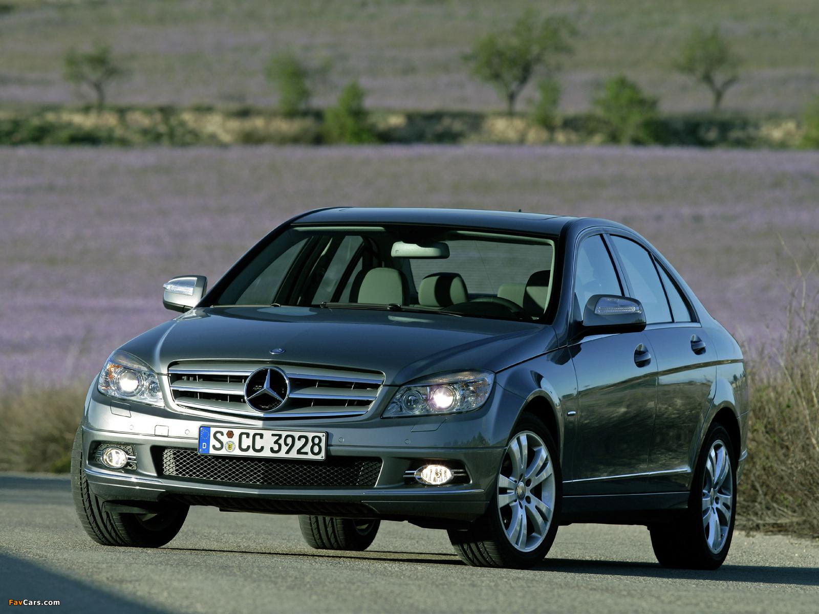 Mercedes-Benz C 350 (W204) 2007–11 pictures (1600 x 1200)