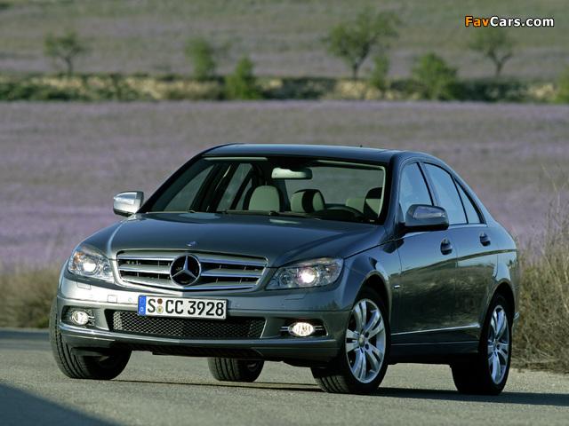 Mercedes-Benz C 350 (W204) 2007–11 pictures (640 x 480)