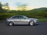 Mercedes-Benz C 63 AMG (W204) 2007–11 pictures