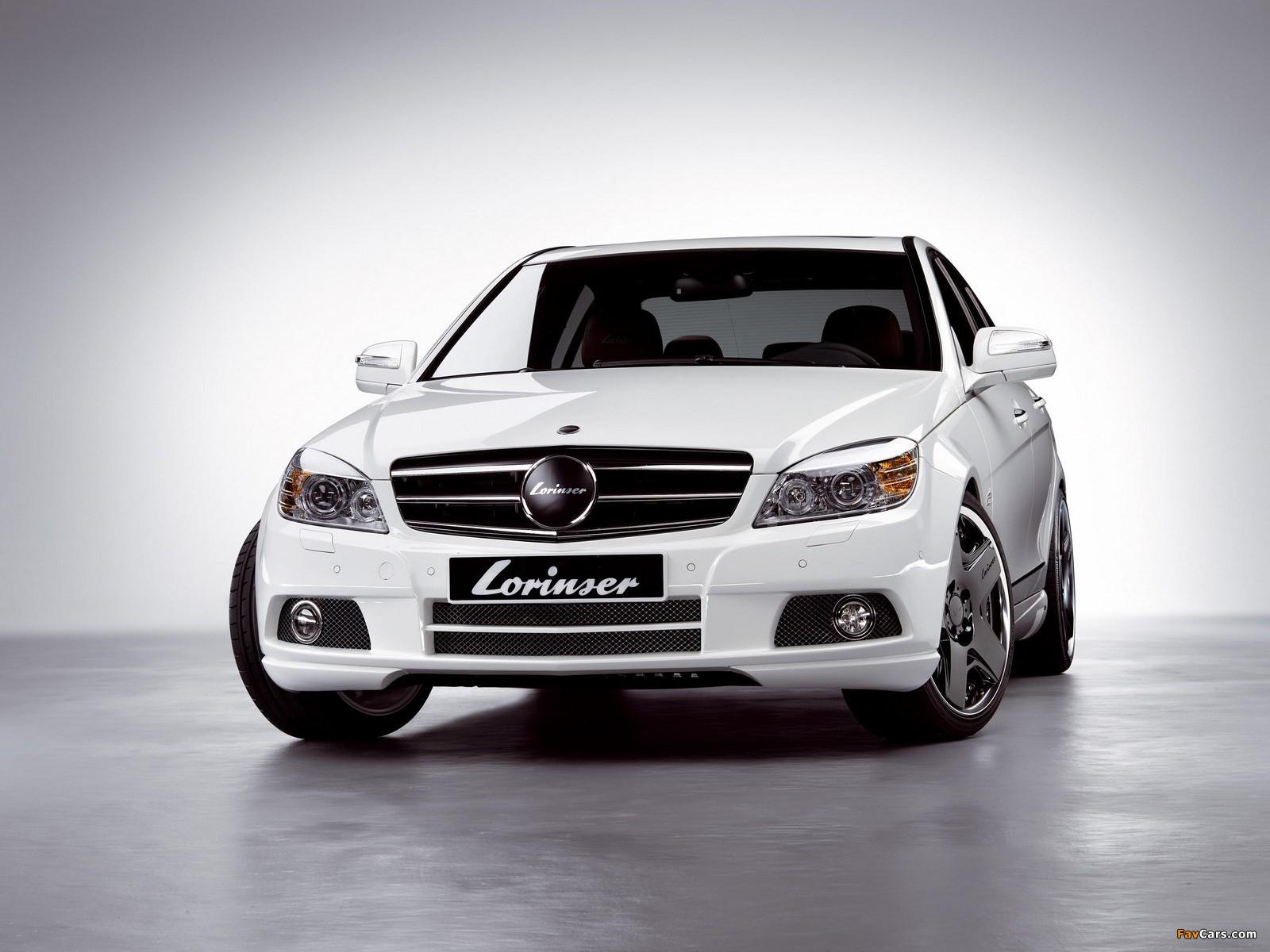 Lorinser Mercedes-Benz C-Klasse (W204) 2007–11 pictures (1600 x 1200)