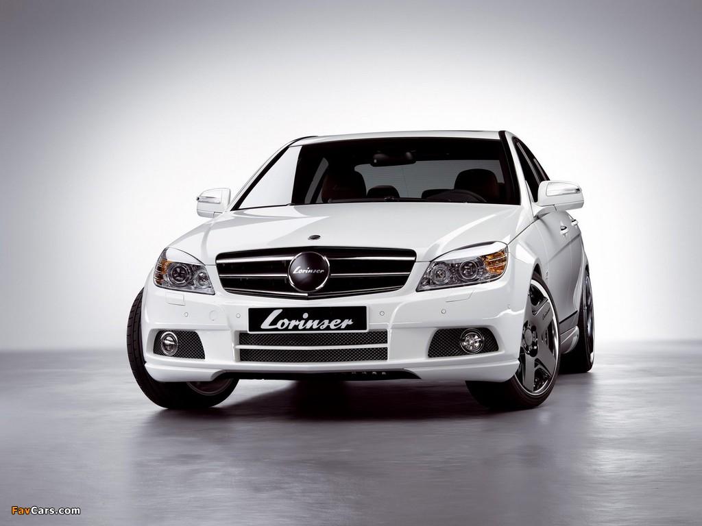 Lorinser Mercedes-Benz C-Klasse (W204) 2007–11 pictures (1024 x 768)