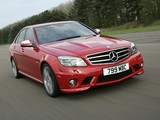 Mercedes-Benz C 63 AMG UK-spec (W204) 2007–11 wallpapers