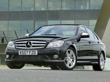 Mercedes-Benz C 220 CDI Sport UK-spec (W204) 2007–11 wallpapers