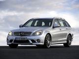 Mercedes-Benz C 63 AMG Estate (S204) 2008–11 images