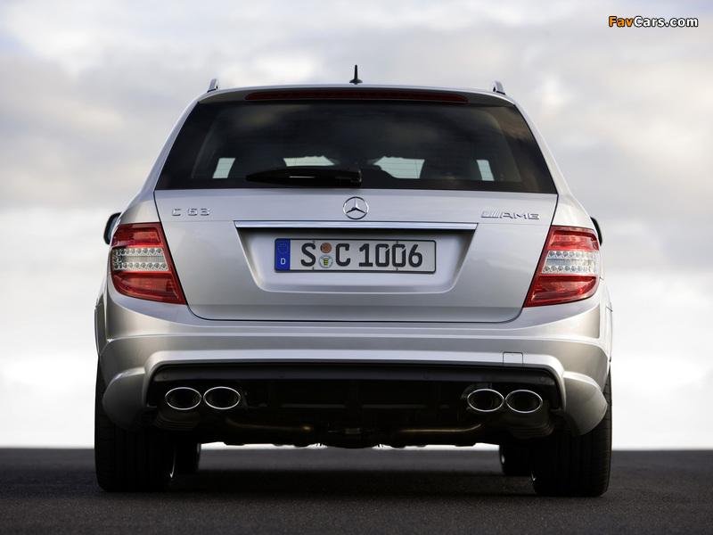 Mercedes-Benz C 63 AMG Estate (S204) 2008–11 images (800 x 600)