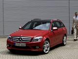 Mercedes-Benz C 350 Estate (S204) 2008–11 images