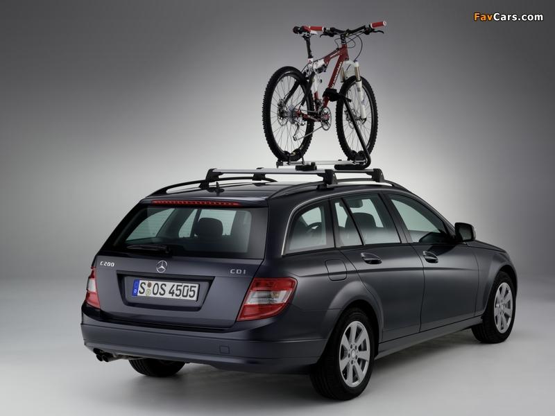 Mercedes-Benz C 200 CDI Estate (S204) 2008–11 photos (800 x 600)