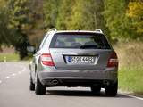 Mercedes-Benz C 320 CDI 4MATIC Estate (S204) 2008–11 photos