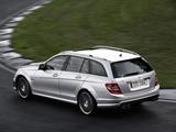 Mercedes-Benz C 63 AMG Estate (S204) 2008–11 photos