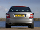 Mercedes-Benz C 220 CDI Estate UK-spec (S204) 2008–11 pictures