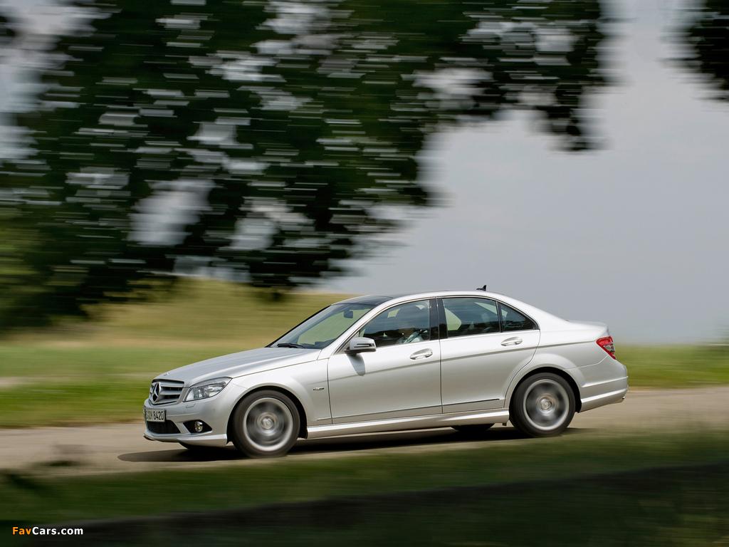 Mercedes-Benz C 250 CDI BlueEfficiency Sport (W204) 2008–11 pictures (1024 x 768)