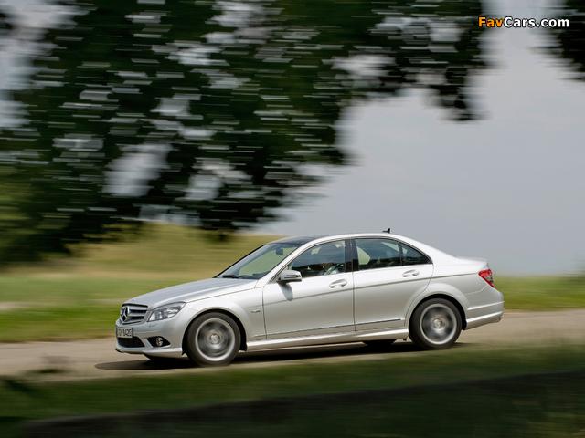 Mercedes-Benz C 250 CDI BlueEfficiency Sport (W204) 2008–11 pictures (640 x 480)