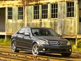 Mercedes-Benz C 350 Sport US-spec (W204) 2008–11 pictures
