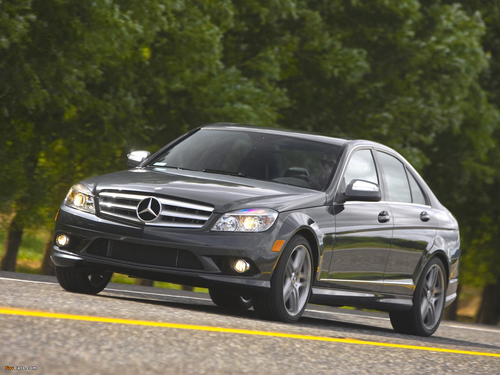 Mercedes-Benz C 350 Sport US-spec (W204) 2008–11 pictures (1600 x 1200)