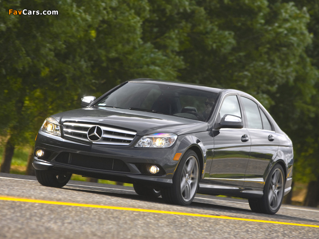 Mercedes-Benz C 350 Sport US-spec (W204) 2008–11 pictures (640 x 480)