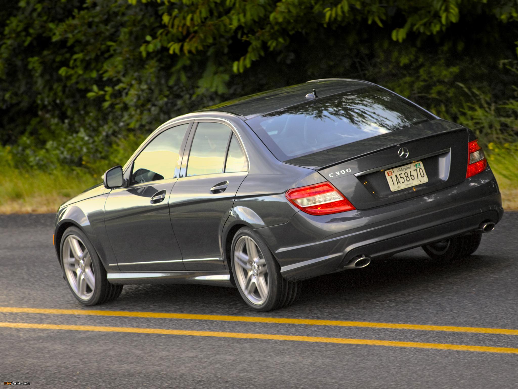 Mercedes-Benz C 350 Sport US-spec (W204) 2008–11 pictures (2048 x 1536)