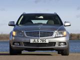 Mercedes-Benz C 220 CDI Estate UK-spec (S204) 2008–11 wallpapers