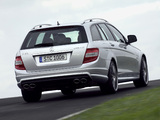 Mercedes-Benz C 63 AMG Estate (S204) 2008–11 wallpapers