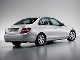 Mercedes-Benz C 180 Kompressor BlueEfficiency (W204) 2008–11 wallpapers