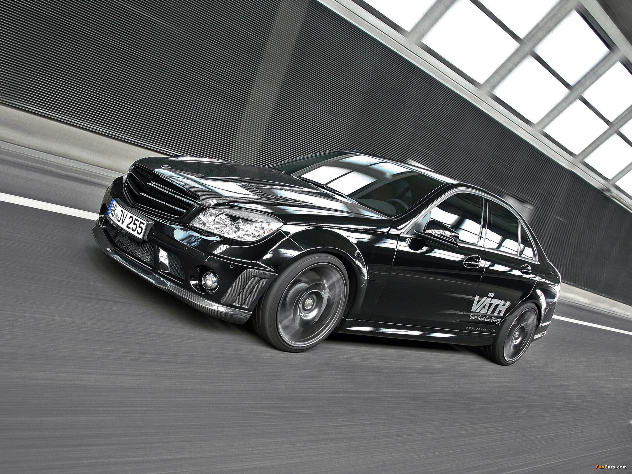 VÄTH Mercedes-Benz C 250 CGI (W204) 2010 images (2048 x 1536)