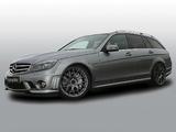 Cargraphic Mercedes-Benz C 63 AMG Estate (S204) 2010–11 pictures