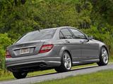 Mercedes-Benz C 300 Sport US-spec (W204) 2010–11 pictures