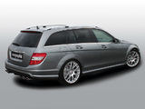 Cargraphic Mercedes-Benz C 63 AMG Estate (S204) 2010–11 wallpapers
