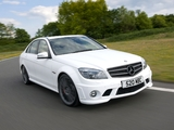 Mercedes-Benz C 63 AMG DR520 (W204) 2010 wallpapers
