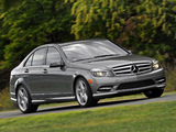Mercedes-Benz C 300 Sport US-spec (W204) 2010–11 wallpapers