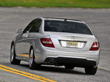 Mercedes-Benz C 250 AMG Sports Package US-spec (W204) 2011 images