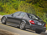 Mercedes-Benz C 63 AMG US-spec (W204) 2011 images