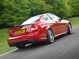Mercedes-Benz C 63 AMG Coupe UK-spec (C204) 2011 images